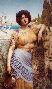 John William Godward, Ionian Dancing Girl