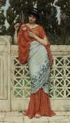 John William Godward He Loves Me, He Loves Me Not