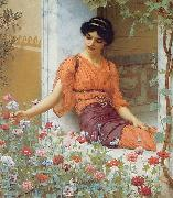 John William Godward, Summer Flowers