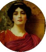 John William Godward, Contemplation