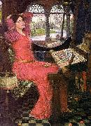 John William Waterhouse, I am half sick of shadows said the lady of shalott