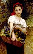 Adolphe William Bouguereau, The Grape Picker