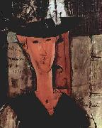 Amedeo Modigliani, Dame mit Hut
