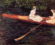 Claude Monet, Boat on the Epte
