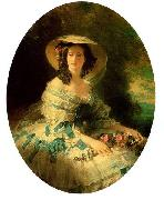 Franz Xaver Winterhalter, Eugenie of Montijo, Empress of France