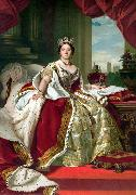 Franz Xaver Winterhalter, Portrait of Queen Victoria