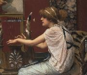 John William Godward, Erato at Her Lyre