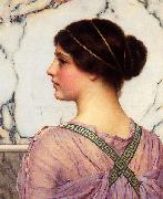 John William Godward, A Grecian Lovely