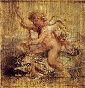 Peter Paul Rubens, Cupid Riding a Dolphin