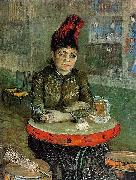 Vincent Van Gogh, Agostina Segatori Sitting in the Cafe du Tamourin