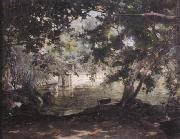 unknow artist, A remembrance of the Villa Borghese,