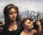 LEONARDO da Vinci, Madonna with the Yarnwinder