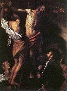 Caravaggio, Crucifixion of Saint Andrew