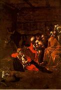 Caravaggio, Adoration of the Shepherds