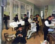 Edgar Degas, A Cotton Office in New Orleans