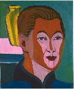 Ernst Ludwig Kirchner, Head of the painter