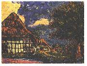 Ernst Ludwig Kirchner, House on Fehmarn