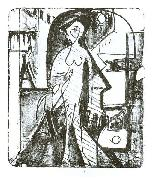 Ernst Ludwig Kirchner, Entcounter - lithography