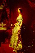 Franz Xaver Winterhalter, Portrait of Empress Eugenie