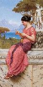 John William Godward, Le Billet Doux (The Love Letter)