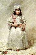 Elizabeth Lyman Boott Duveneck Little Lady Blanche Sweden oil painting reproduction