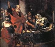 GUERCINO, St.Peter Revives Tbitha