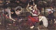 John William Waterhouse, Flor and the Zephyrs