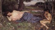 John William Waterhouse, Listening to My Sweet Piping