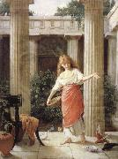 John William Waterhouse, In the Peristyle