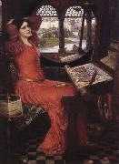 John William Waterhouse, i am Half-Sick of Shadows said the Lady of Shalott