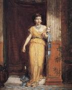 John William Waterhouse, La Fileuse