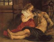 Peter Paul Rubens, A Roman Woman's Love for Her Father