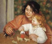 Pierre Renoir, Child with Toys(Gabrielle and Jean)