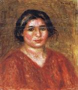 Pierre Renoir, Gabrielle in a Red Blouse