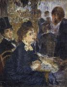 Pierre Renoir, At the Cafe