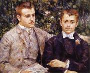 Pierre Renoir, Charles and Georges Durand-Ruel