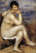 Pierre Renoir, Bather with a Rock