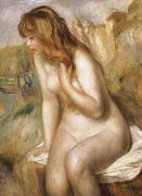 Pierre Renoir, Bather Seated on a Rock
