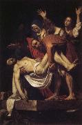 Caravaggio, Entombment of Christ