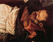 Caravaggio, Details of Martyrdom of St.Matthew