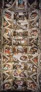 Michelangelo Buonarroti, Ceiling of the Sistine Chapel