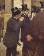 Edgar Degas, At the Stock Exchange (mk06)