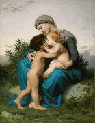 Adolphe William Bouguereau, Fraternal Love (mk26)