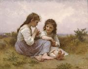 Adolphe William Bouguereau Childhood Idyll  (mk26) Sweden oil painting reproduction