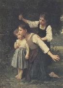 Adolphe William Bouguereau Dans le bois (mk26) Sweden oil painting reproduction