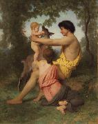 Adolphe William Bouguereau, Idyll:Family from Antiquity (nn04)