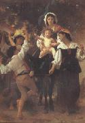 Adolphe William Bouguereau, Return from the Harvest (mk26)
