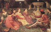 John William Waterhouse, A Tale from The Decameron (mk41)