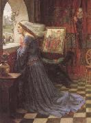 John William Waterhouse, Fair Rosamund (mk41)