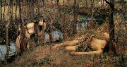 John William Waterhouse, A Naiad (mk41)